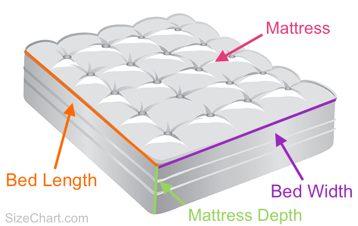 Bed Size Length x Width