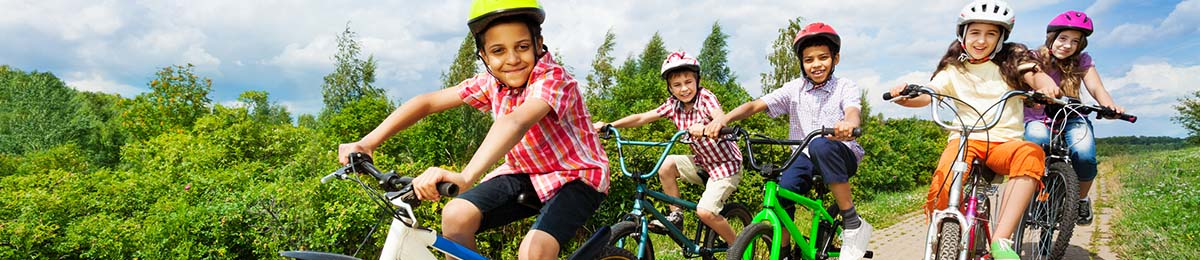 Determine your kid's bike size