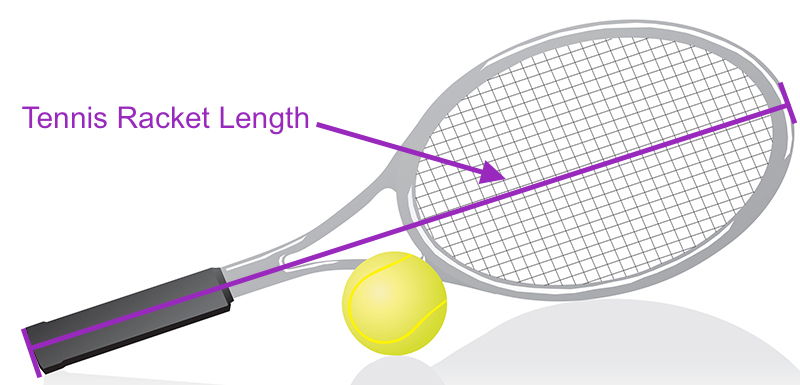 Determine your tennis racket length